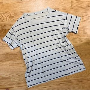 NWOT VS PINK striped perfect crew tee